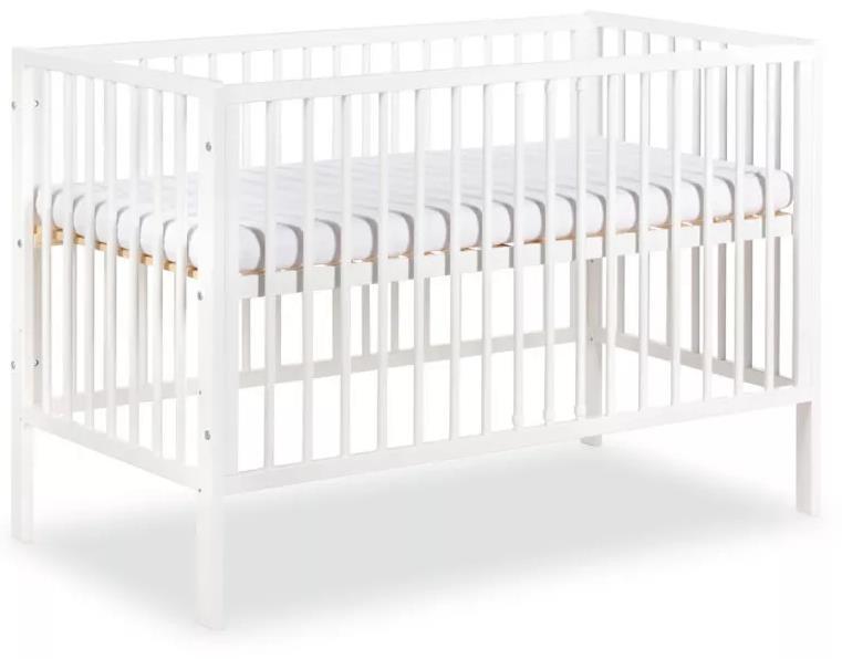 meble dla dzieci klupś Łóżeczko radekx120x60cm biały - klupś
