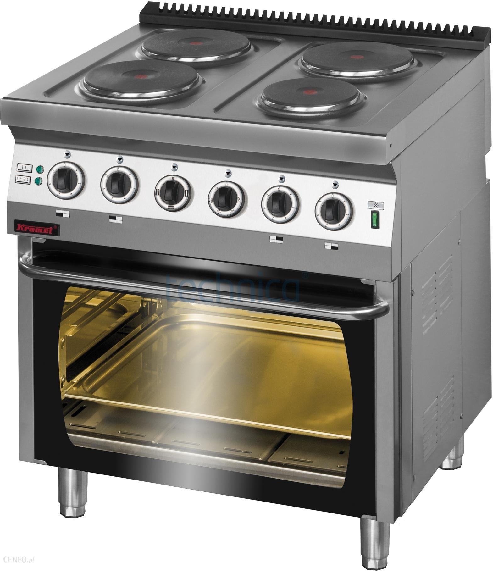 Kromet Kuchnia Elektryczna 4 Palnikowa Z Piekarnikiem Elektrycznym 700 Ke 4 Pe 2 Ceny I Opinie Ceneo Pl