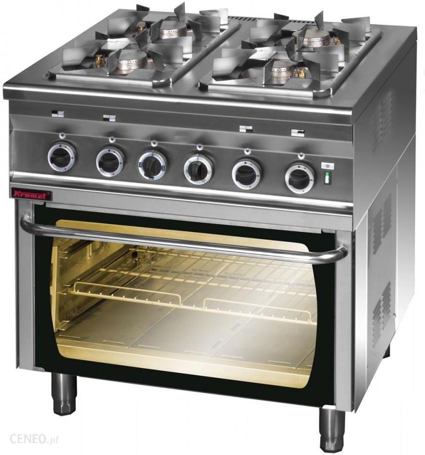 Kromet Kuchnia Gazowa 4 Palnikowa Z Piekarnikiem Elektrycznym 000kg 4spe 2
