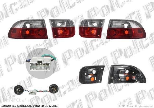 Lampa Tylna Lampy Tylne Wewnzewn Przezroczysty Czerwono Białytuning Honda Civic Hbcoupe Egej Wrzesień 91 Listopad 95 Opinie I Ceny Na