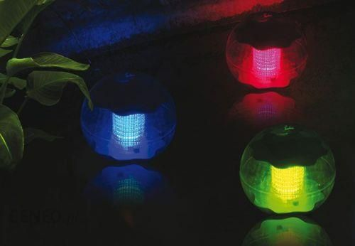 Piłka Lampa Solarna Led Do Ogrodu Oczka Wodnego 3 Szt