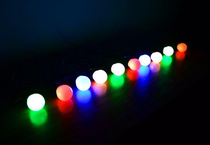 Oświetlenie Ogrodowe 50 Led Lampki żarówki Dekoracja Ceny I Opinie Ceneopl