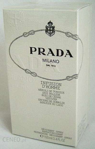 Prada Infusion D Homme dezodorant spray 100 ml - Opinie i ceny na ... dc1f6a09738