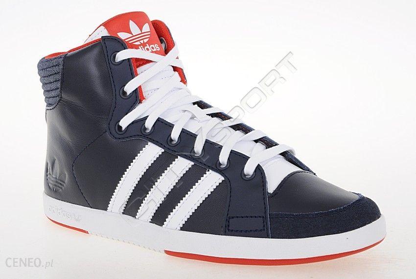 Adidas Buty Damskie Court Side Hi W Q23398 GRANAT TRAMPKI I TENISÓWKI