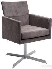 Kare Design Retro Design Dialog Fotel Obrotowy Brązowy Tkanina 76440 Opinie I Atrakcyjne Ceny Na Ceneopl
