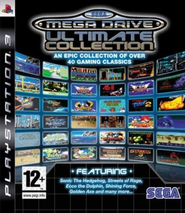 SEGA Mega Drive Ultimate Collection (Gra PS3)