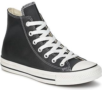 Converse BUTY ALL STAR LEATHER HI Black