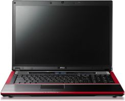 Laptop MSI GT725-070PL Intel Core 2 Duo P9500 4GB 500GB 17'' HD4850 DVD-RW VHP - zdjęcie 1
