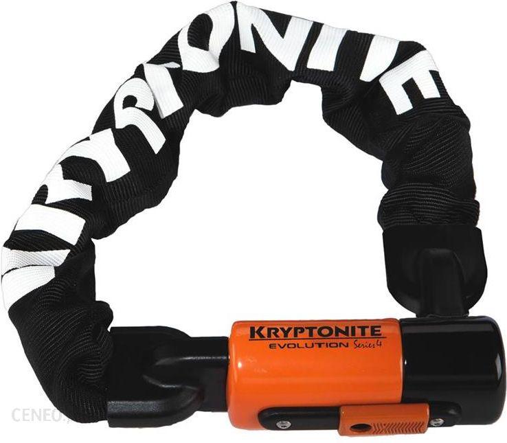 Kryptonite zapięcie Evolution Series 4 czarno-pomarańczowy 9 poziom zabezpieczenia