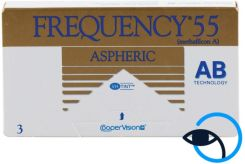 COOPER VISION Frequency 55 Aspheric 6 szt.