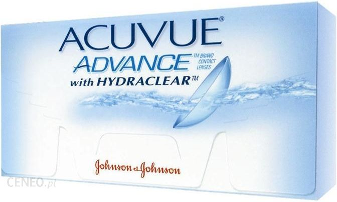 65b950e1326c0 Soczewki Johnson   Johnson Acuvue Advance z Hydraclear 6 szt - zdjęcie 1 ...