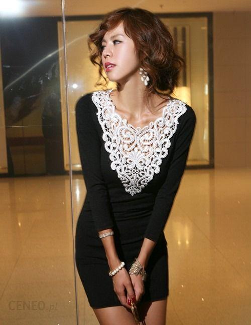 d3430dab17 Japan Style sukienka z koronką S3785 - Ceny i opinie - Ceneo.pl