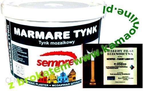 Tynk Sempre Tynk Mozaikowy Z Brokatem Marmare 1 0mm Opinie I Ceny
