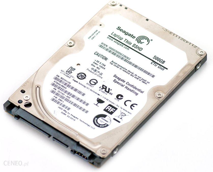 """""""Seagate"""" plonas SSHD 500 GB nešiojamas kompiuteris 2.5"""