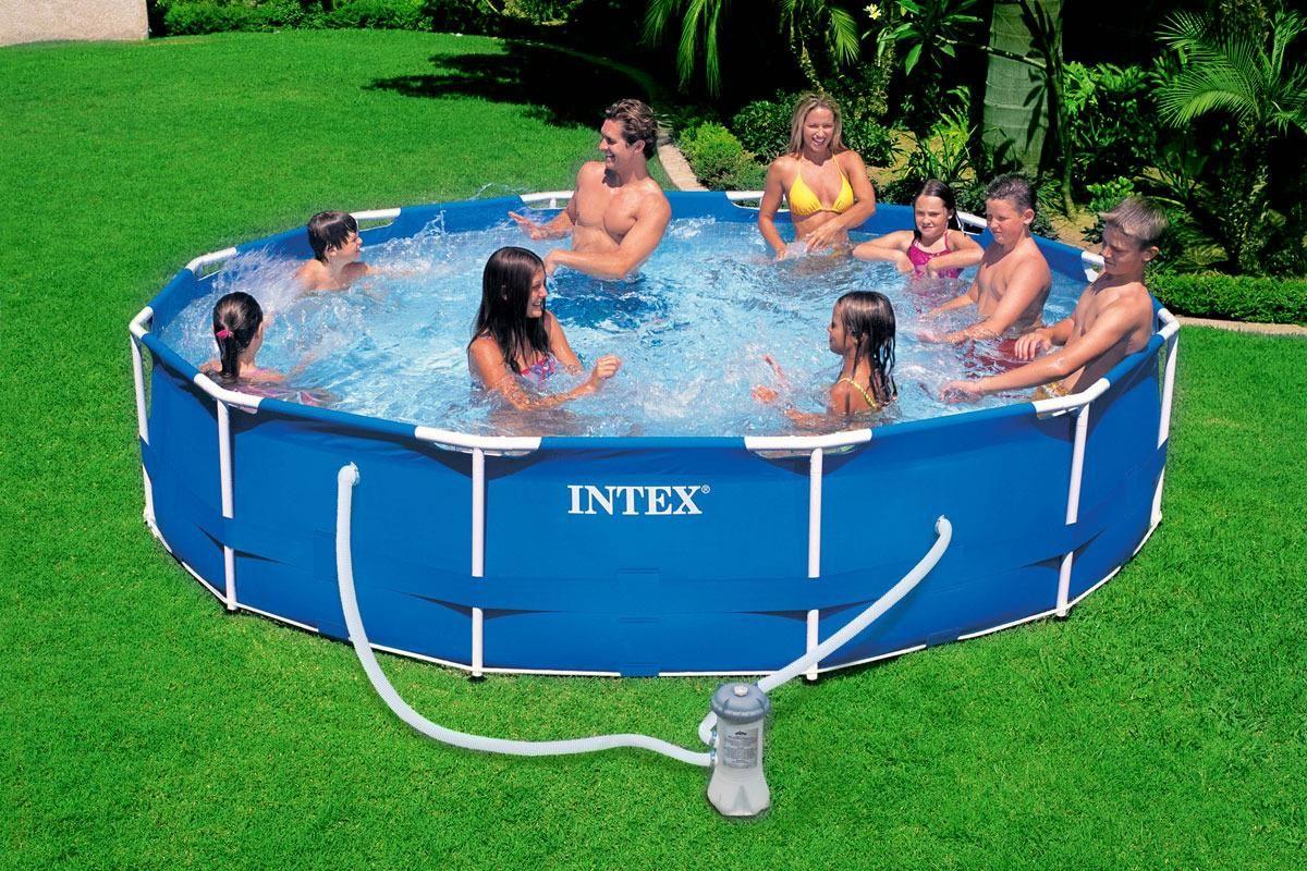 Intex Basen Stelazowy 457x122 54946 Ceny I Opinie Ceneo Pl