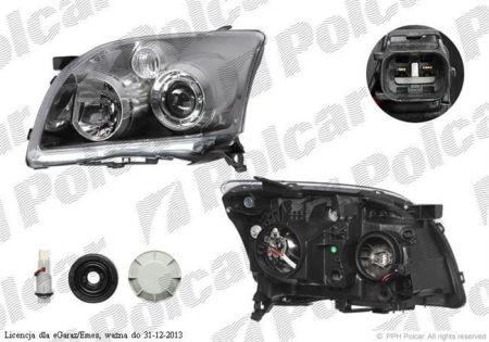 Lampa Przednia Reflektor Główny Typ żarówkih1h7elektryczny Bez Silnikaece Toyota Avensis T25 Sierpień 06 Listopad 08