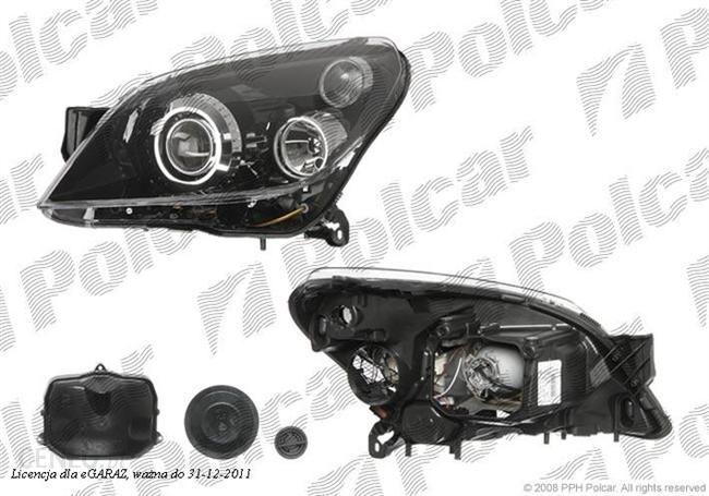 Lampa Przednia Reflektor Główny Bi Ksenon Typ żarówkid2sh7automatycznyece Opel Astra H Listopad 03 Marzec 07