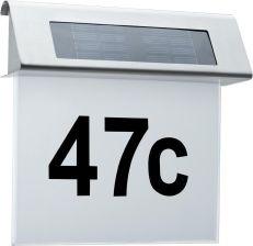 Paulmann Lampa Solarna Oświetlenie Numeru Domu 93765
