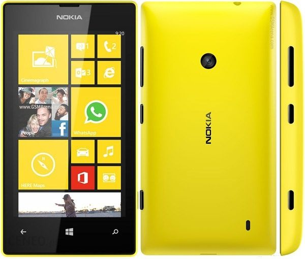 Smartfon Nokia Lumia 520 Zolty Opinie Komentarze O Produkcie 2