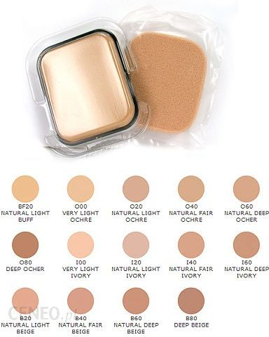 2cca57245 Shiseido The Makeup Perfect Smoothing Compact Foundation Refill SPF 15 I40  Natural Fair Ivory podkład w