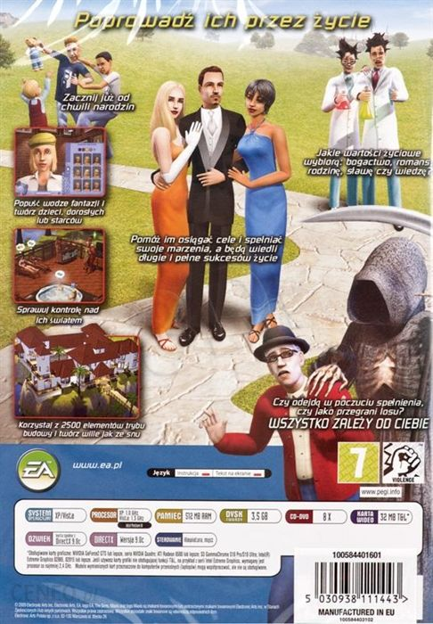 The Sims 2 Gra Pc