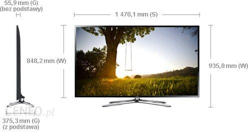 Niewiarygodnie Telewizor Samsung UE46F6400 Full HD 46 cali - Opinie i ceny na BS27