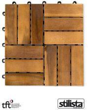 Stilista Drewniane Płytki Tarasowe Balkon Taras Basen Sauna 30020251