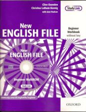 New English File Beginner Workbook with CD
