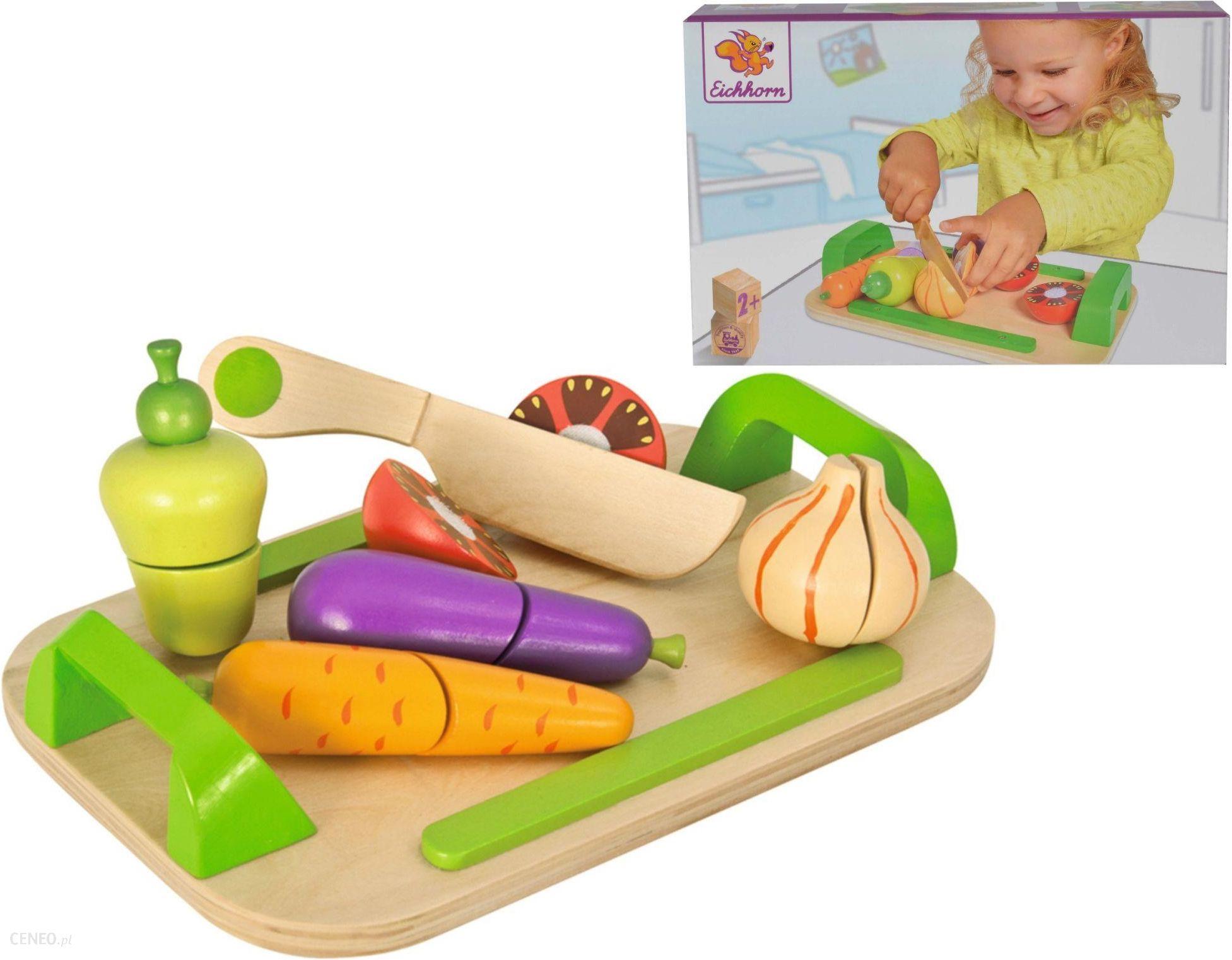 Zabawka Eichhorn Deska Do Krojenia Z Warzywami 100003722 Ceny I Opinie Ceneo Pl