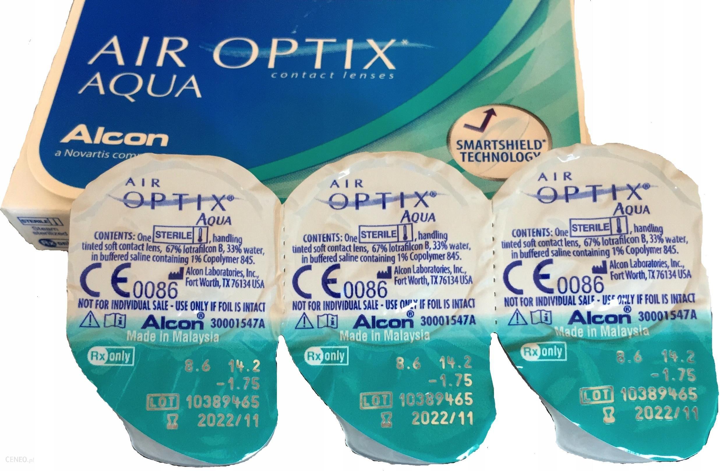 Alcon Air Optix Aqua 6 szt