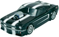 Model On-road RC Reely 1:10, Mustang Hot Rod Brushless 4WD, EB-250 zR, RtR, 2,4 GHz