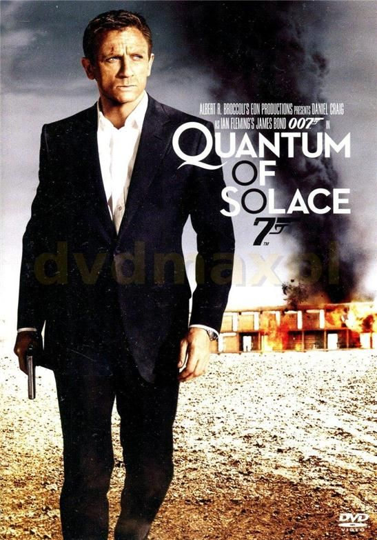 43bf917419cccd Film DVD Quantum Of Solace. James Bond 007 (DVD) - Ceny i opinie ...