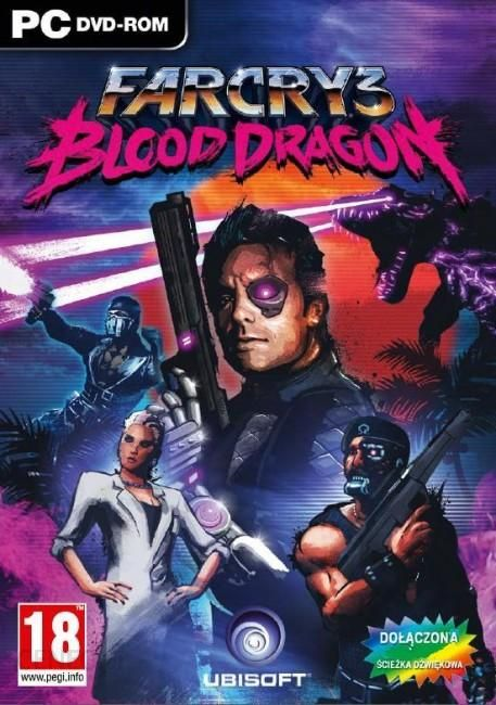 Far Cry 3 Blood Dragon Gra Pc Ceneo Pl