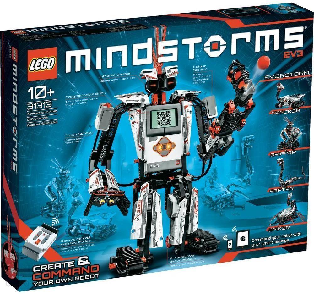 Klocki Lego Mindstorms Ev3 31313 Kraków Sklepy Ceny I Opinie O