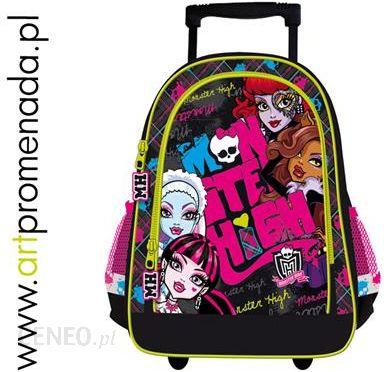 44a3e762b6cc1 St. Majewski Monster High Plecak Na Kókach 15- Tornister 50965 - zdjęcie 1