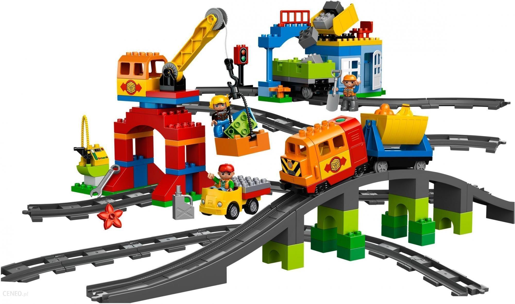 Klocki Lego Duplo Pociąg 10508 Ceny I Opinie Ceneopl