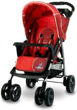 Caretero Monaco Red Spacerowy