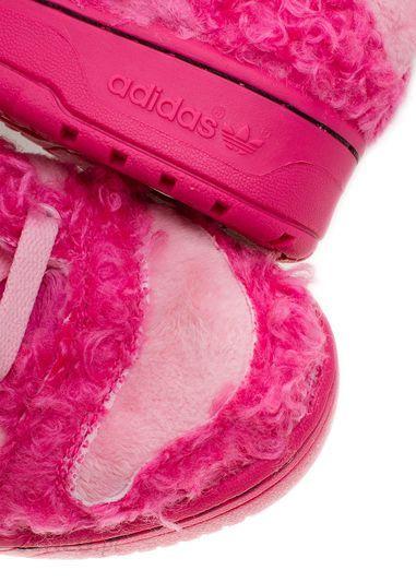 ecfac23bb3f31 ... ADIDAS ORIGINALS Buty sportowe by Jeremy Scott poodle różowy - zdjęcie  ...