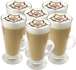 Szklanki do kawy Latte 250ml 6szt