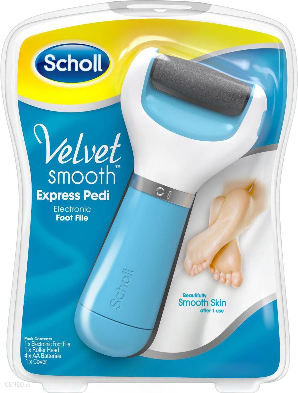 Scholl Velvet Smooth Diamond Elektroniczny Pilnik Do Stop Niebieski Opinie I Ceny Na Ceneo Pl
