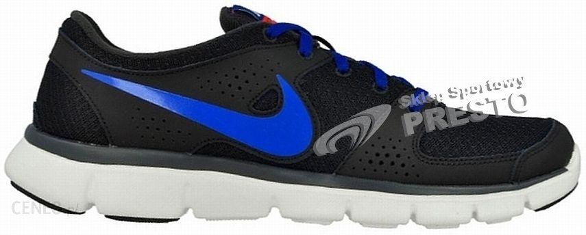 65212d1a Nike Buty biegowe męskie Flex Experience RN czarno-niebieski - zdjęcie 1