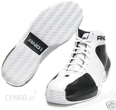 Buty do koszykówki AND1 Jagged Edge MID białe Ceny i