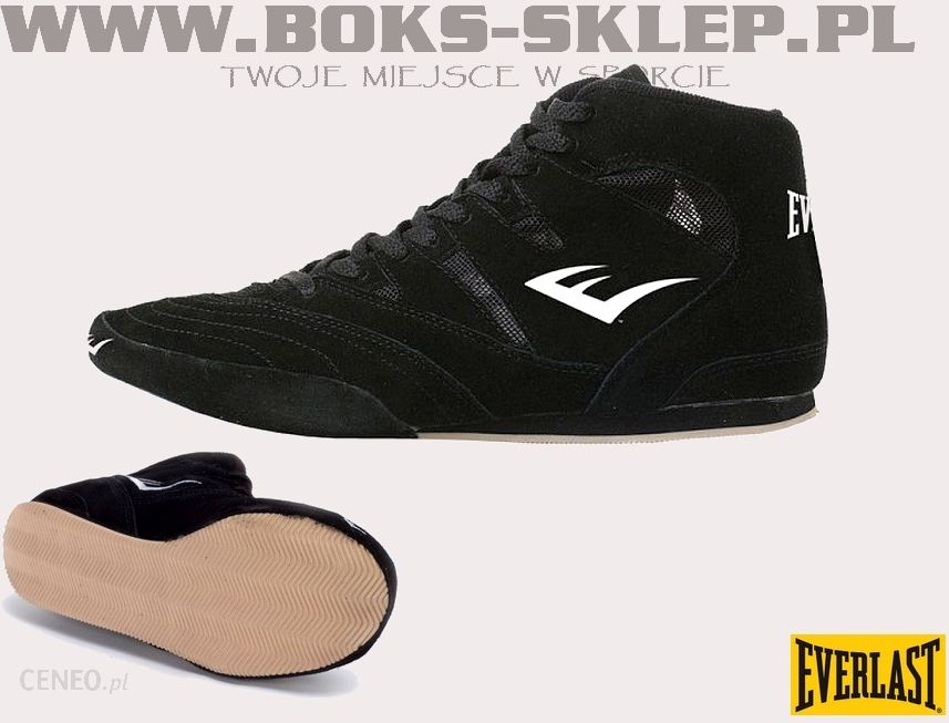 Everlast Buty Bokserskie Suede Black (EVE 8000) Ceny i opinie Ceneo.pl