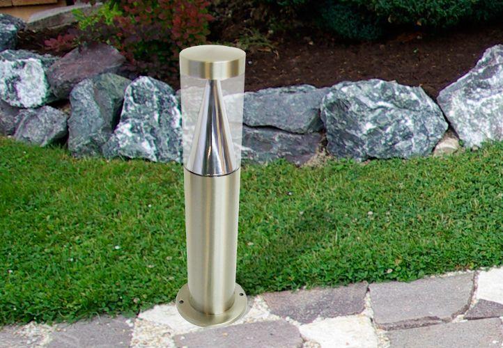 Twójpasażpl Lampa Ogrodowa Ze Stali Oświetlenie Do Ogrodu 16 Led 40cm Bl10704 Ceny I Opinie Ceneopl