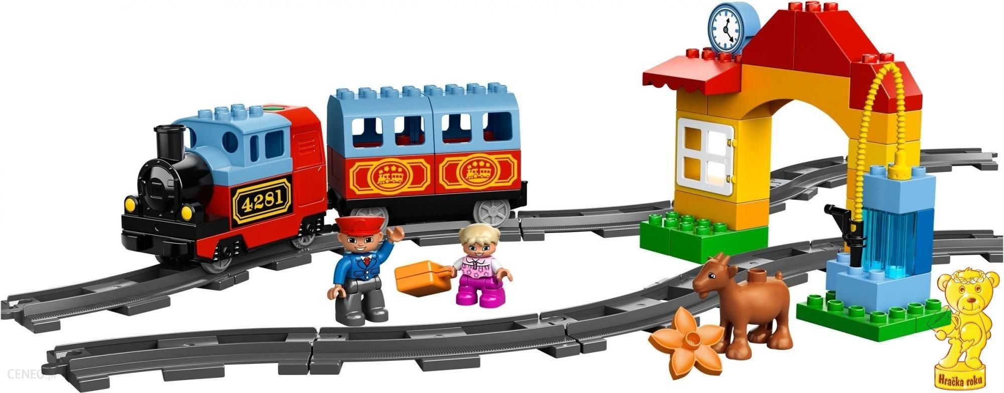Klocki Lego Duplo Mój Pierwszy Pociąg 10507 Ceny I Opinie Ceneopl
