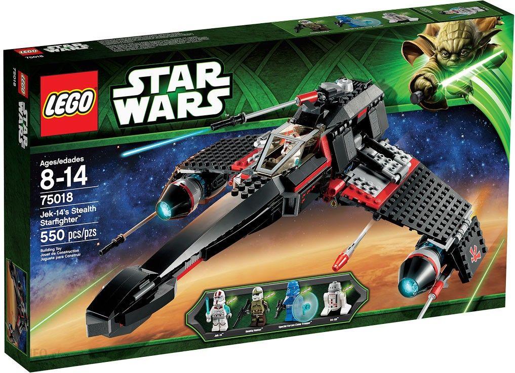Klocki Lego Star Wars Jek 14s Stealth Starfighter 75018 Ceny I