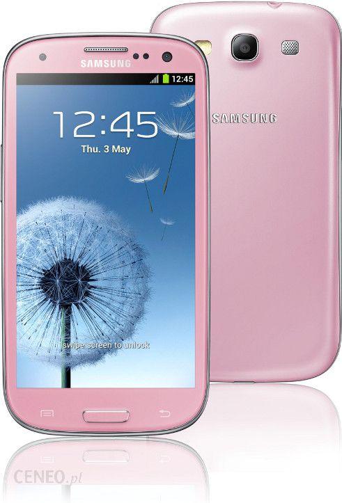 Samsung Galaxy S Iii S3 16gb Gt I9300 Rozowy Cena Opinie Na Ceneo Pl