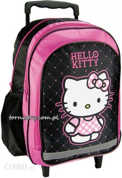 fb5cf78f0d276 Derform Plecak Szkolny Na Kółkach Hello Kitty