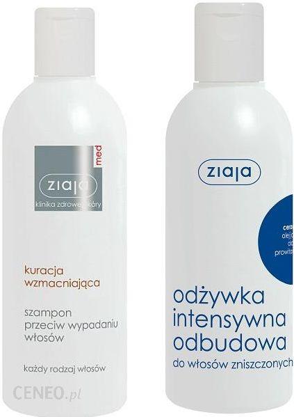 ziaja med szampon przeciw wypadaniu włosów skład