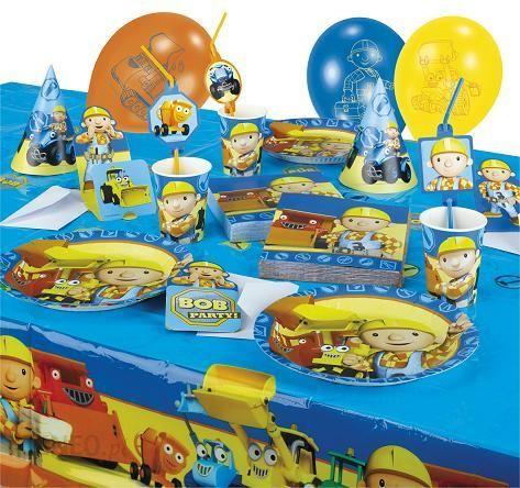 Duży Zestaw Urodzinowy Bob Budowniczy 55 Szt Ceny I Opinie
